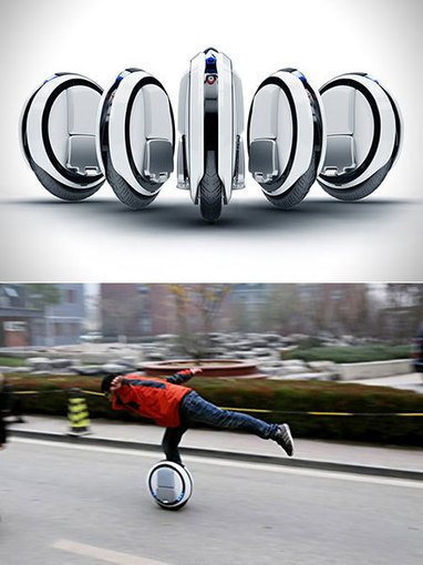 Another Look at Ninebot One, the Futuristic Self-Balancing, One-Wheeled Scooter | Technology in Business Today | Scoop.it