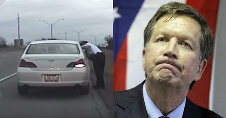 WATCH: Video Catches SICK Thing Kasich Did to Honest Cop Who Stopped Him | Xposing Government Corruption in all it's forms | Scoop.it
