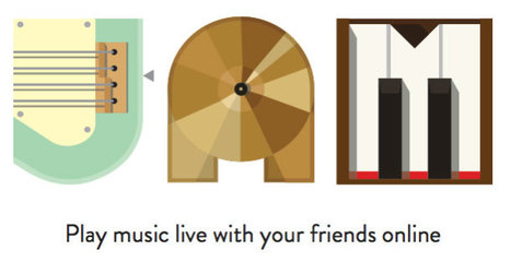 Con Google Chrome adesso si suona grazie a JAM | InTime - Social Media Magazine | Scoop.it