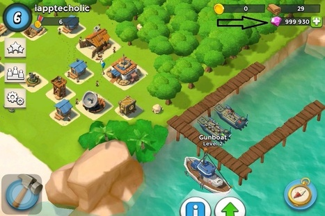 Boom Beach Hack - Generate Unlimited Diamonds | Top Android and iOS games News | Scoop.it