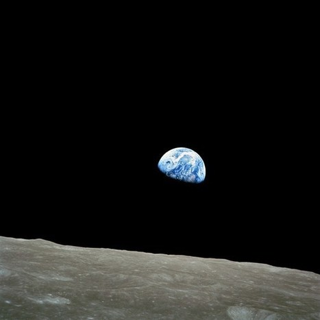 Earthrise: How Astronauts Took the Most Important Photo in Space History | Photography and society | Scoop.it
