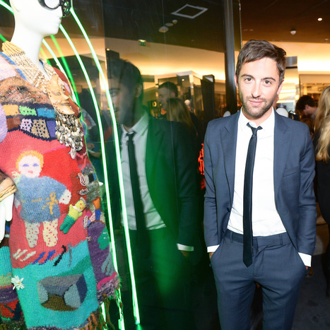 L'inauguration de l'exposition Iris Apfel au Bon Marché - L'officiel de la mode | Couture | Scoop.it