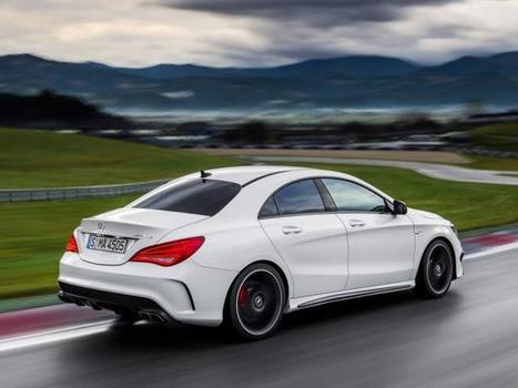 2014 Mercedes-Benz CLA45 AMG MPG | Mercedes-Benz | Scoop.it