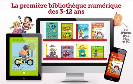 Beau succès pour l'application J'aime Lire Store - Tous les livres et la littérature jeunesse | io | Scoop.it