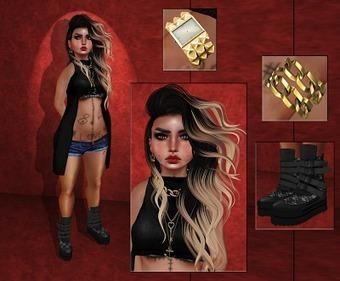 [S]iLeNt [W]oRLd : [113] BlaCKY .. | sL fashion | Scoop.it