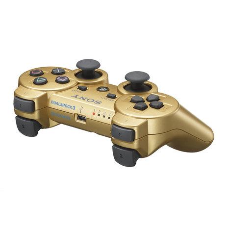 Sony DualShock 3 Gold – PS3 | High-Tech news | Scoop.it