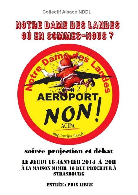 COLLECTIF ALSACE NDDL - EVENEMENTS:  Notre-Dame-des-Landes, où en sommes-nous ? | 16 janvier 2014 | #NDDL | #ZAD Partout | #GPII | Scoop.it
