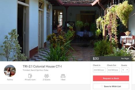 5 #Airbnb #Cuba Hosts Manage Half of the Island's Inventory #sharingeconomy | ALBERTO CORRERA - QUADRI E DIRIGENTI TURISMO IN ITALIA | Scoop.it