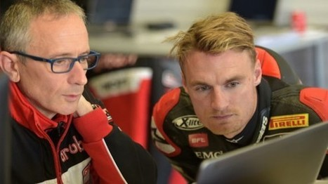 WorldSBK: Alberto Colombo on Working With Chaz Davies | Ductalk Ducati News | Scoop.it