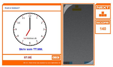 Lær klokken online | skole it | Scoop.it