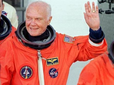 John Glenn, pioneer astronaut and US senator, dies at 95   levin's linkblog: Pop Culture Channel   Scoop.it
