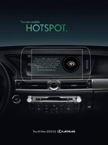 Wired publishes Lexus NFC ad | NFC Trends | Scoop.it