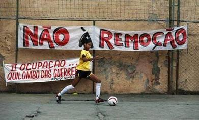 Brazil protests take to the pitch as People's Cup highlights evictions | Jonathan Watts | A2 Geography | Scoop.it
