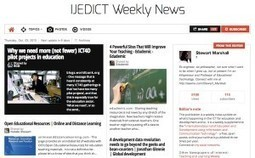 October 3, 2013: IJEDICT Weekly News is out | Studying Teaching and Learning | Scoop.it