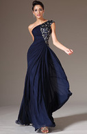 [USD 183.06] eDressit 2014 New Dark Blue One-Shoulder Formal Dress (00142905) | wedding dress | Scoop.it
