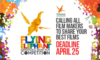 Toonz Announces Flying Elephant Animation & Short Film Competition | Mind Moving Media | Scoop.it