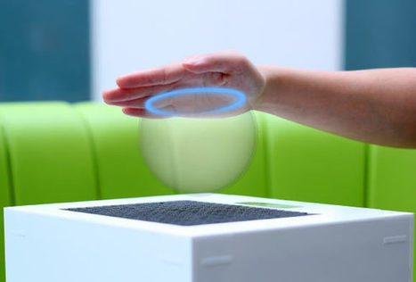 New Device Allows Users to Feel Holograms | 3D Virtual-Real Worlds: Ed Tech | Scoop.it