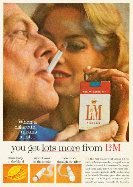 Fumez ! C'est bon pour votre santé selon la pub… | Adverbia - Com' corporate & publicité | Scoop.it