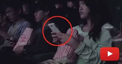 These People Whip Out Their Phones In A Movie Theater. They Never Saw It Coming! | #PrecisionMobileAdvertising | Scoop.it