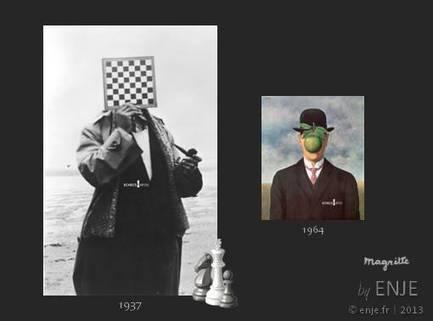 Echecsinfos: Magritte inspiré par le jeu d'échecs | Toiles de rêves | Scoop.it