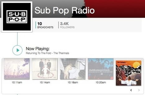Sub Pop Is the First Label to Launch on TuneIn | Musicbiz | Scoop.it