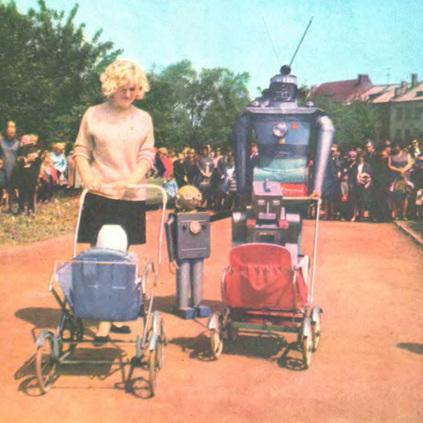 Dark Roasted Blend: Rubik's Robot   Vintage, Robots, Photos, Pub, Années 50   Scoop.it