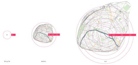 Carte isochronique de Paris   cartography & mapping   Scoop.it