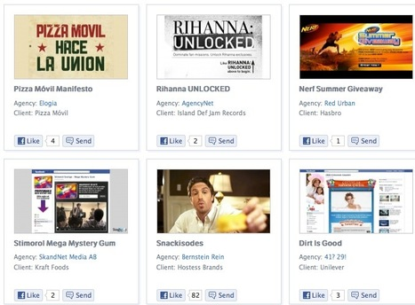 A Collection of 750+ Facebook Marketing Campaigns: Facebook Studio | AtDotCom Social media | Scoop.it