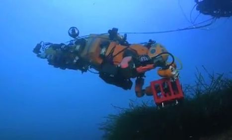 Watch: Scuba-diving robot explores ocean depths | STEM Connections | Scoop.it
