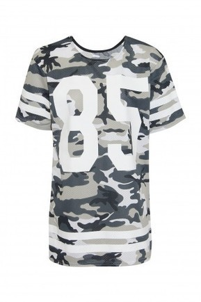 85 Camo Airtex Jersey Top | Stylewise Direct | Women's Fashion Online | Scoop.it