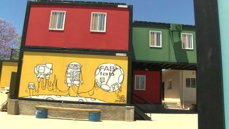 FABLab: Namibia's 'life-giving' ideas factory - BBC News | Peer2Politics | Scoop.it