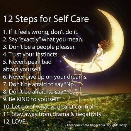 12 Steps for Self Care - Otrazhenie | Leadership and Spirituality | Scoop.it