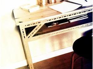 Transformer un établi métallique en bureau | Le coin des bricoleurs | Best of coin des bricoleurs | Scoop.it