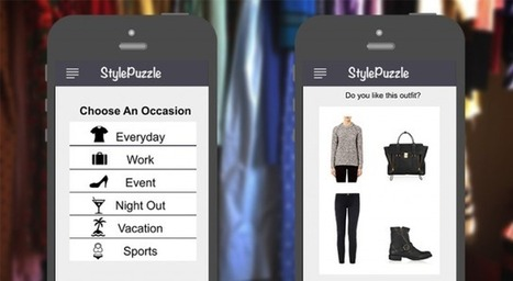 App helps anyone get dressed with outfit recommendations from their own wardrobe | StylePuzzle | Scoop.it