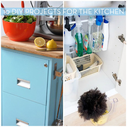 10 Do-It-Yourself Projects To Organize The Kitchen » Curbly | DIY ... | Do it yourself projects | Scoop.it