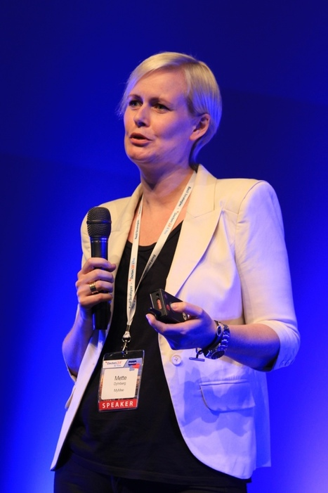 Mette Dyhrberg talks about application of patient-generated data and self-tracking at Doctors 2.0 & You 2015 #doctors20 | Utilizing Social Media in Healthcare | Scoop.it