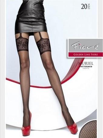 Strumpbyxor med förföriskt mönster i stockings-look Muriel från Fiore, 20 den | strumpbyxor boutique | Scoop.it