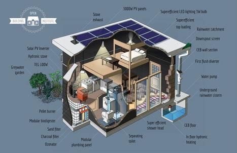 Proyecto para desarrollar viviendas ecológicas, modulares y asequibles / EcoInventos.com | Ecología - Dietética  y Nutrición | Scoop.it