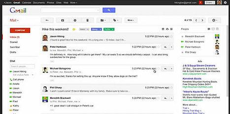 Le Gmail nouveau arrive | Communication & médias sociaux | Scoop.it