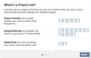 How to Best Use Facebook's New Smart List and Special Friend List | Small Business Marketing | Scoop.it