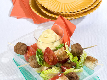 Ricette › Antipasti › Polpette › Spiedini di polpette piccanti - cucina sopraffina? ceglie in cucina | Ciò che mi piace. | Scoop.it