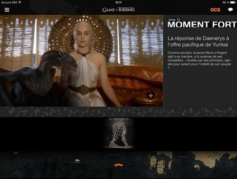 Game of Thrones, l'immersion totale | La communication digitale & l'E-business | Scoop.it