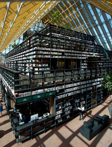 MVDRV's Book Mountain | News | Archinect | The Scoop on Libraries | Scoop.it