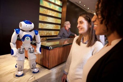 Technology Invades Hospitality Industry: Domino Delivery Droid, Hilton Robot, Ritz-Carlton Mystique - Forbes | The Robot Times | Scoop.it
