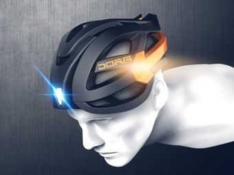 The ultimate bike helmet has embedded turn signal lights | Vertical Farm - Food Factory | Scoop.it