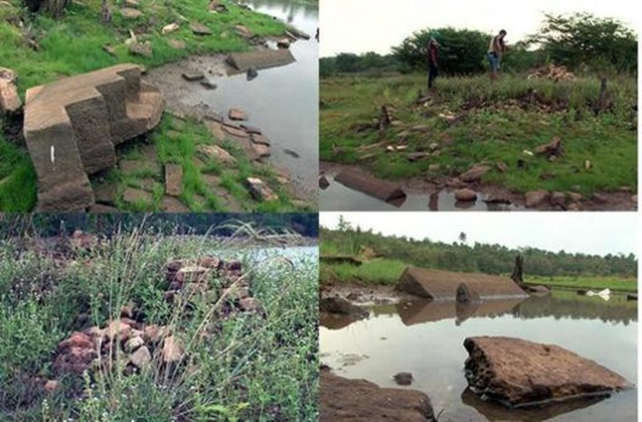 Khmer ruins revealed as reservoir dries out | Bangkok Post | Asie | Scoop.it