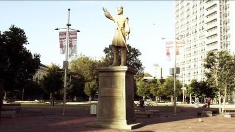 Faites tomber la statue du roi Joffrey pour le lancement de la saison 4 de Game Of Thrones   streetmarketing   Scoop.it