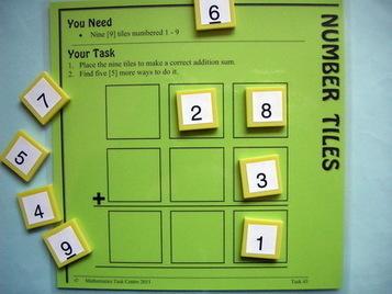 Mathematics Centre: Mathematics Task Centre: Maths Tasks (Hands-on Problem Solving) | Maths K-6 | Scoop.it