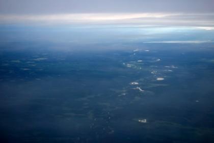 Flying over Yakutia! Images from Yakutia Airlines' plane | eYakutia.com | English Yakutia | yakutia | Scoop.it