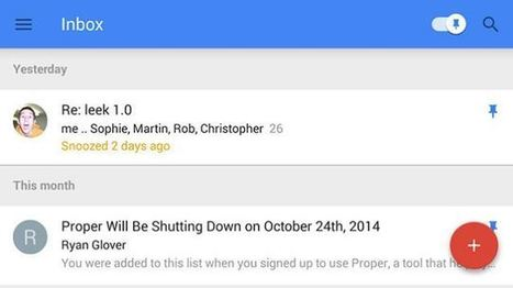 7 Tips to Unlock the Potential of Google Inbox   Tech Latest   Scoop.it